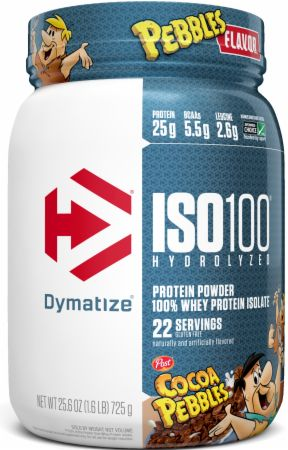 Image of ISO100® Hydrolyzed 100% Whey Protein Isolate Cocoa Pebbles 1.6 Lbs. - Protein Powder Dymatize