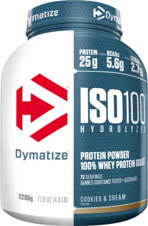 Image of Dymatize ISO100 2.2 Kilograms Cookies & Cream