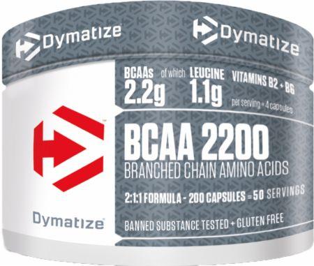 Image of Dymatize BCAA 2200 200 Capsules
