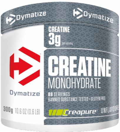 Image of Dymatize Creatine Monohydrate 300 Grams Unflavoured