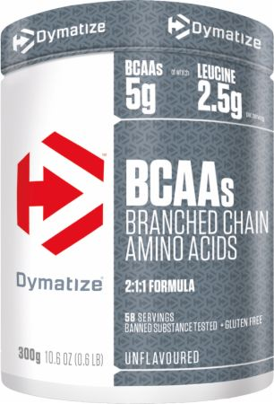 Image of Dymatize BCAAs 300 Grams Unflavoured