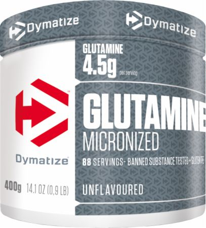Image of Dymatize Micronized Glutamine 400 Grams Unflavoured