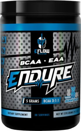 Image of Endure Warrior Gummy Bear 30 Servings - Amino Acids & BCAAs eFlow Nutrition