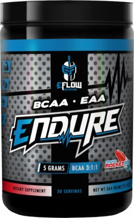 Image of Endure Raging Rocket Pop 30 Servings - Amino Acids & BCAAs eFlow Nutrition