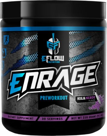 Image of Enrage Ninja Nerds 30 Servings - Pre-Workout eFlow Nutrition