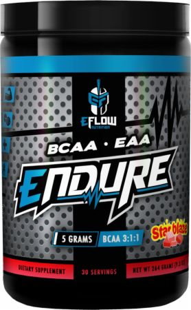 Image of Endure Star Blaze 30 Servings - Amino Acids & BCAAs eFlow Nutrition