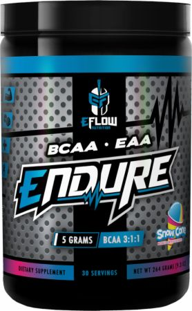 Image of Endure Snow Cone 30 Servings - Amino Acids & BCAAs eFlow Nutrition