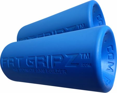 "Image of ""Fat Gripz Blue 2.25"""" Diameter - Equipment Accessories Fat Gripz"""