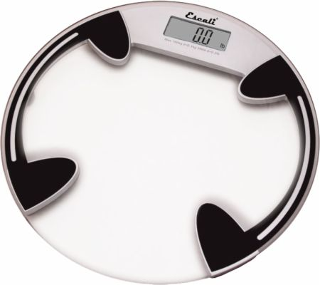 Image of Escali Clear Glass Body Weight Scale