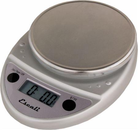 Image of Escali Primo Food & Kitchen Scale Grey