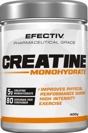 Image of Creatine Monohydrate Unflavoured 400 Grams - Creatine EFECTIV Nutrition