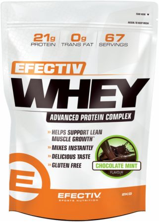 Image of Efectiv Whey Chocolate Mint 2 Kilograms - Protein Powder EFECTIV Nutrition