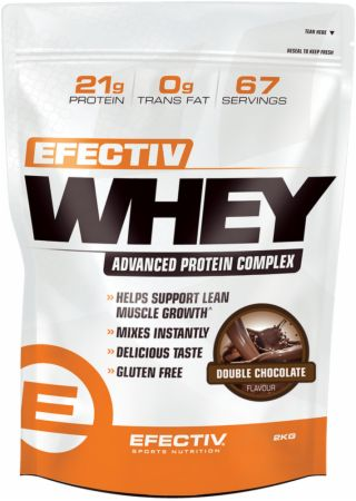 Image of Efectiv Whey Double Chocolate 2 Kilograms - Protein Powder EFECTIV Nutrition