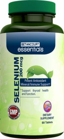 Betancourt Nutrition Essentials Selenium