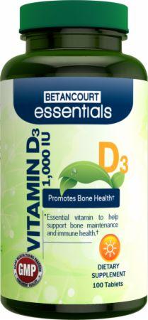 Betancourt Nutrition Essentials Vitamin D の BODYBUILDING.com 日本語・商品カタログへ移動する