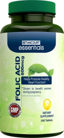 Betancourt Nutrition Essentials Folic Acid の BODYBUILDING.com 日本語・商品カタログへ移動する