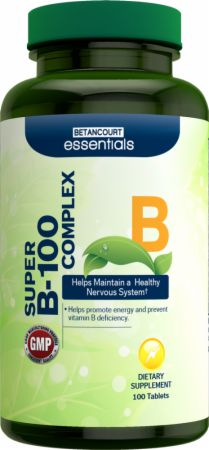 Betancourt Nutrition Essentials Super B-100 Complex
