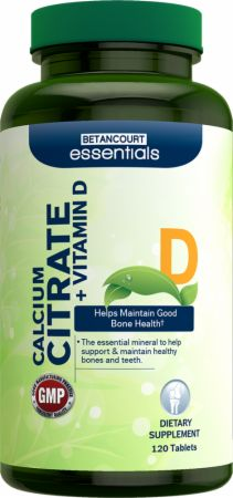 Essentials Calcium Citrate + Vitamin D