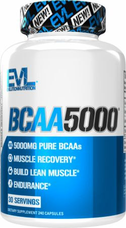Image of EVLUTION NUTRITION BCAA 5000 240 Capsules