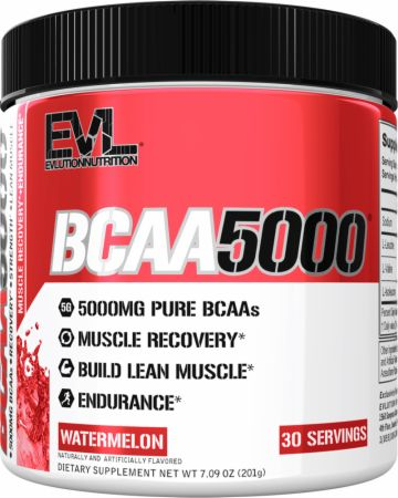 Image of EVLUTION NUTRITION BCAA 5000 30 Servings Watermelon