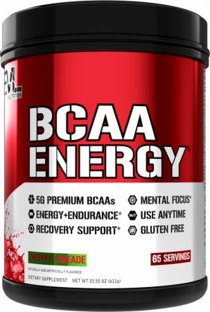 Image of BCAA Energy Amino Acids Cherry Limeade 65 Servings - Amino Acids & BCAAs EVLUTION NUTRITION