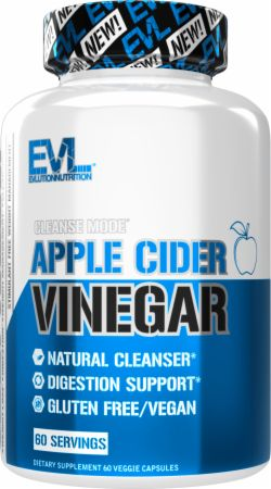Image of CleanseMode Apple Cider Vinegar 60 Capsules - Digestive Health EVLUTION NUTRITION