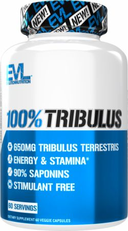 Image of 100% Tribulus 60 Capsules - Testosterone Support EVLUTION NUTRITION