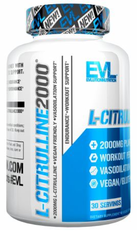 Image of L-Citrulline2000 90 Veggie Capsules - Nitric Oxide Boosters EVLUTION NUTRITION