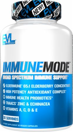 Image of ImmuneMode Concentrated Elderberry and Immune Support 30 Veggie Capsules - Immune System Support EVLUTION NUTRITION