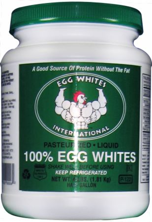 100% Pure Liquid Egg Whites
