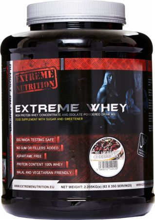 Image of Extreme Nutrition Extreme Whey 908 Grams Blueberry Cheesecake