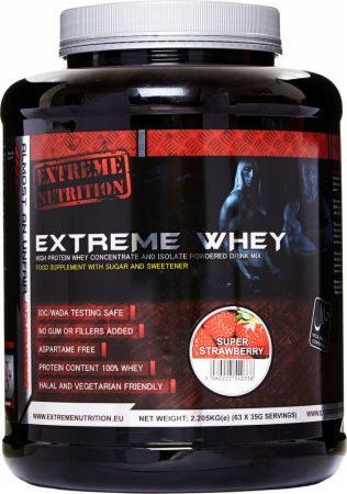 Image of Extreme Nutrition Extreme Whey 908 Grams Summer Strawberry