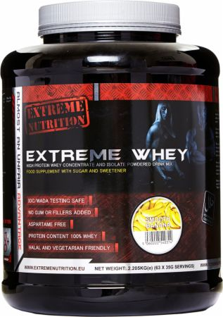 Image of Extreme Nutrition Extreme Whey 908 Grams Smooth Banana