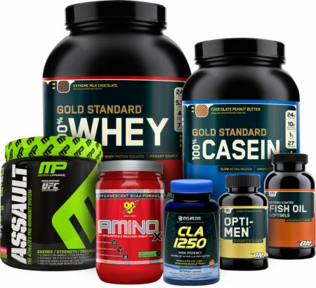 lose fat build muscle stack