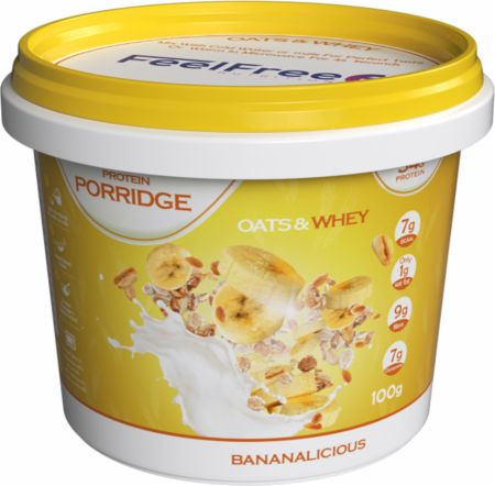 Image of Feel Free Nutrition Protein Porridge 1 - 100g Cup Bananalicious
