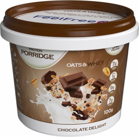 Image of Feel Free Nutrition Protein Porridge 1 - 100g Cup Chocolate Delight