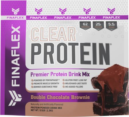 Image of Clear Protein Double Chocolate Brownie 5.1 Lbs. - Protein Powder FINAFLEX