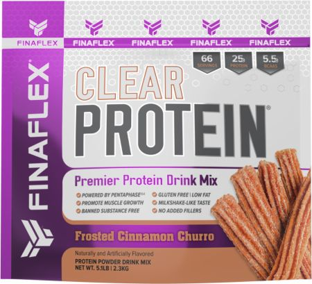 Image of Clear Protein Frosted Cinnamon Churro 5.1 Lbs. - Protein Powder FINAFLEX