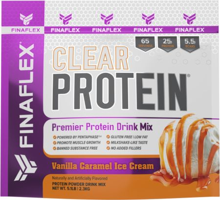 Image of Clear Protein Vanilla Caramel Ice Cream 5.1 Lbs. - Protein Powder FINAFLEX