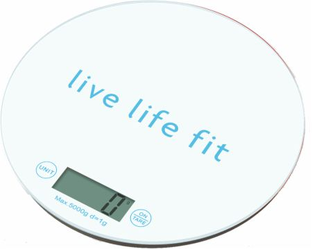 Image of fitlosophy Digital Food Scale White