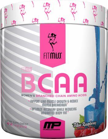 FitMiss BCAA Blue Raspberry 30 Servings - Amino Acids & BCAAs