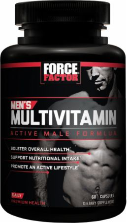 Best Multivitamin For Men >> Force Factor Men S Multivitamin At Bodybuilding Com Best Prices On