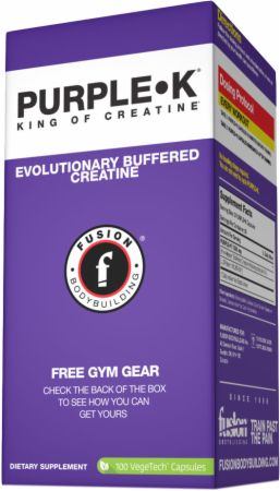Image of FUSION BODYBUILDING PURPLE-K 100 Capsules