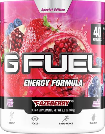 Gamma Labs G FUEL Fazeberry 40 Servings - Pre-Workout Supplements