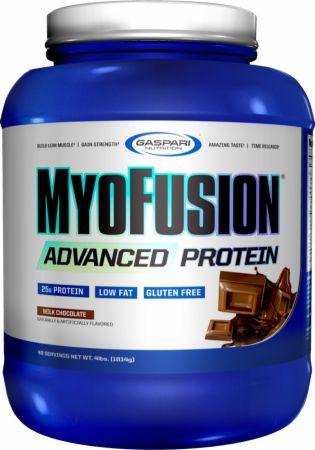 Image of MyoFusion Advanced Protein Milk Chocolate 4 Lbs. - Protein Powder Gaspari Nutrition