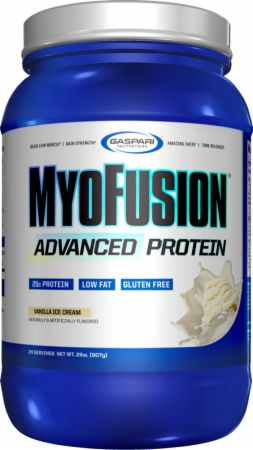 MyoFusion Advanced Protein Vanilla Ice Cream 2 Lbs. - Protein Powder Gaspari Nutrition Gaspari Nutrition MyoFusion Advanced Protein Vanilla Ice Cream 2 Lbs.  - The Ultimate Time-Released Blend Featuring Fast Acting Ingredients!