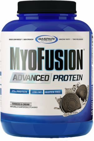 Image of MyoFusion Advanced Protein Cookies & Cream 4 Lbs. - Protein Powder Gaspari Nutrition
