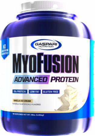 Image of MyoFusion Advanced Protein Vanilla Ice Cream 4 Lbs. - Protein Powder Gaspari Nutrition