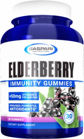 Elderberry Immunity Gummies + Vitamin C