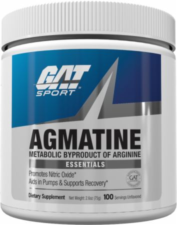 Image of Agmatine Unflavored 100 Servings - Nitric Oxide Boosters GAT Sport